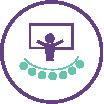 icone palestras e cursos